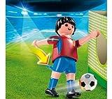 PLAYMOBIL Soccer Player - Spain Multicolor - Figuras de Juguete para niños (Multicolor, 3 año(s))
