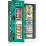 Kusmi Tea Geschenkset Grüner Tee - 5 Mini Metalldosen mit Grünen Tees + Teezange - 5 Natürliche...
