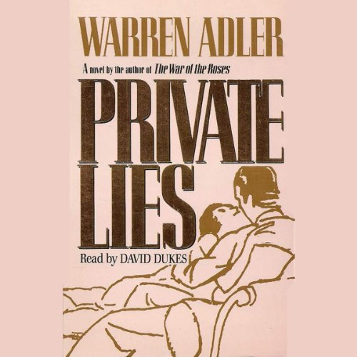 Private Lies audiobook cover art