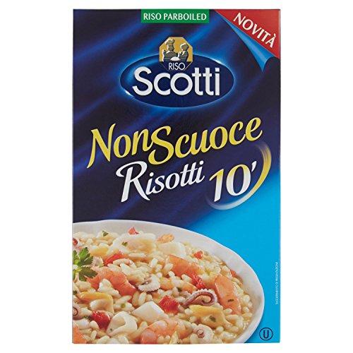 Riso Scotti Riso Scotti - Risotti Veloci Al Dente - Riso Per Risotti, Pronto In 10' - 1 Kg - 1000 g