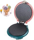 ykw Waffle Maker Electric Egg Roll Maker Molde de tortilla crujiente antiadherente para hornear, cocción de doble cara de calefacción