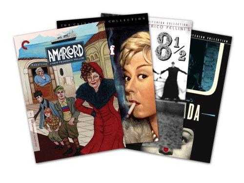 Criterion Collection Director Series - Federico Fellini (8 ½ / La Strada / Nights Of Cabiria / Amarcord) - Amazon.com Exclusive