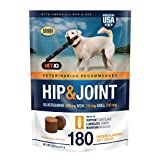 Vetiq Maximum Strength Hip And Joint Supplement For Dogs - Chicken Flavored Soft Chews, 22.2 Oz
