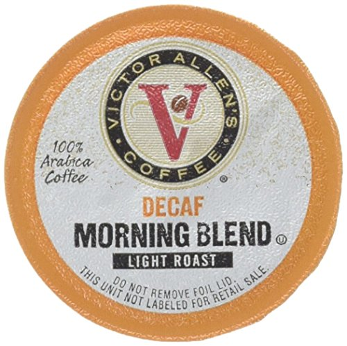 Victor Allen's Coffee 72 Count Single serve cups for Keurig K-Cup Brewers (Decaf Morning Blend)