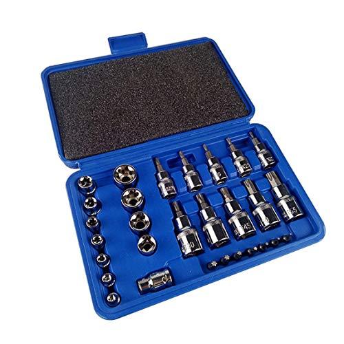 Zinniaya - Juego de 30 piezas de herramientas para reparación de maquinaria doméstica