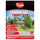 Radon Test Kit for Home - DIY Radon Test kit Includes 2 EPA Approved Radon Detectors, Radon Lab Analysis, Pre-Paid Return Mailer, Emailed Radon Results within 1 Week and Free Expert Radon Consultation