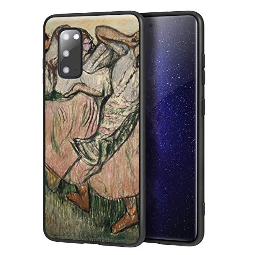 Berkin Arts Edgar Degas Custodia per Samsung Galaxy S20/Custodia per Cellulare Art/Stampa giclée UV sulla Cover del Telefono(Three Ruso Bailarines)