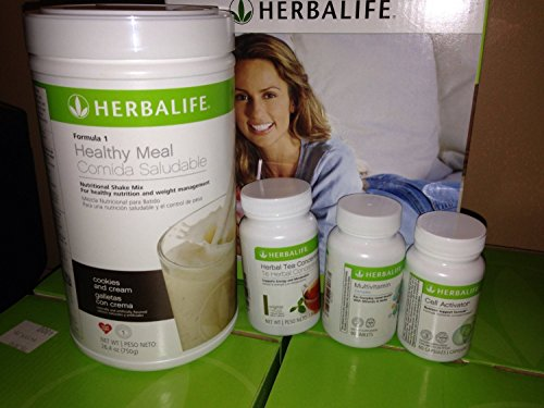 Herbalife Quickstart Weight Loss Program Cookies 'N Cream