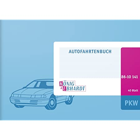 Rnk Verlag 3119 2 Fahrtenbuch Für Pkw Mit Extra Parkscheibe Rnk 3119 2 Für Insgesammt 496 Fahrten Steuerlicher Kilometernachweiß Din A6 Quer 1 Stück Bürobedarf Schreibwaren
