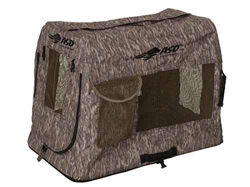 Find Discount Avery Hunting Gear Quick Set Travel Kennel-Bottomland-XL
