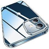 Elando Klare Hülle Kompatibel mit iPhone 12 und iPhone 12 Pro, Vergilbungsfrei, Stoßfestigkeit...