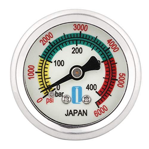 iFCOW Manometer 40Mpa Auto Motorrad Manometer Manometer Hochdruckpumpe Baugruppe Universal Auto Zubehör