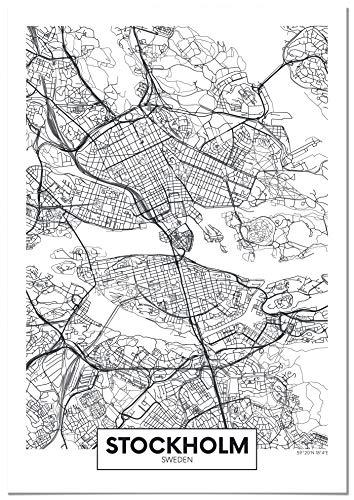 Panorama Lienzo Estocolmo 70x100cm   Impreso