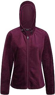 Regatta Women's Siddington Stretch Side Panels Hooded Softshell Jacket Fleece, Prune/Prune, 20