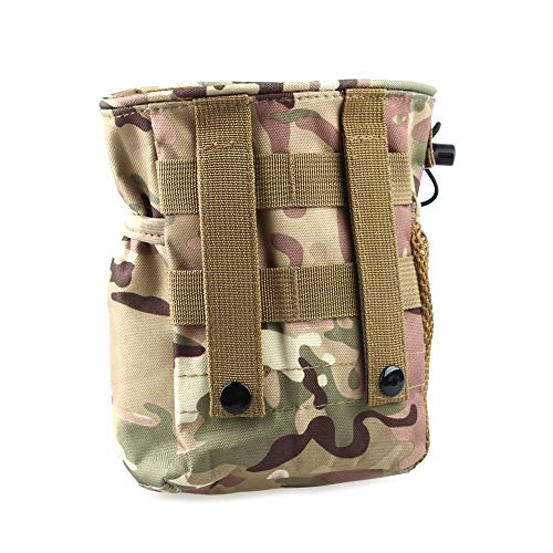 Greenpromise Sac à grande contenance, militaire, pour airsoft, paintball, chasse, camping, escalade, CP Camouflage