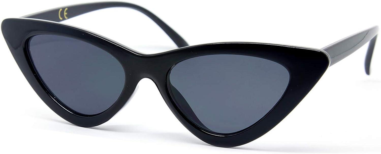 Gafas de estilo vintage con ojos de gato, las gafas ofrecen protección UV y similares a las de Kurt Cobain,GQZ7