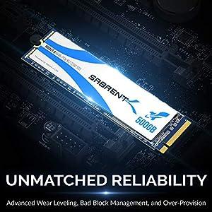Sabrent Rocket Q 500GB NVMe PCIe M.2 2280 Internal SSD High Performance Solid State Drive R/W 2000/1000MB/s (SB-RKTQ-500)