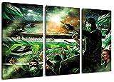 Ultras Hannover Collage 2, 3-Teiler Format: 120x80, Bild