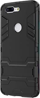 Case Compatible with Oneplus 5T,Iron Man 2 in 1 Hybrid Heavy Duty Military Armor Slim Kickstand Hard Cover Full Body Dual Layer Protective Shockproof Case for Oneplus 5T