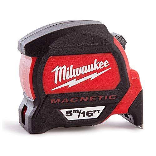 Milwaukee herramienta eléctrica 48–22–52165M-16', magnética cinta métrica