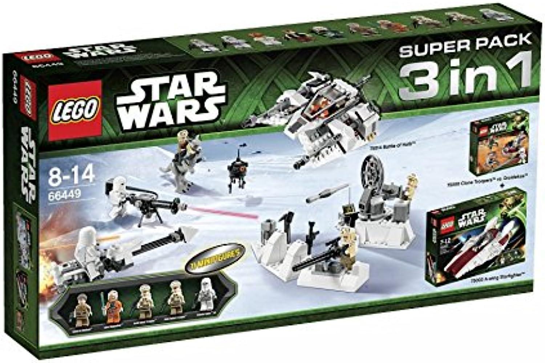 sin mínimo LEGO Estrella Wars - súper Pack 3 en 1 - - - 66449  exclusivo