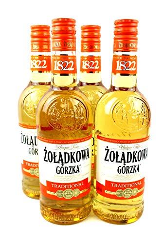Zoladkowa Gorzka Traditional Wodka (4 x 0.5 l)