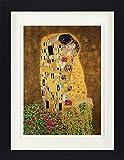 1art1 Gustav Klimt - Der Kuß II Gerahmtes Poster Für Fans
