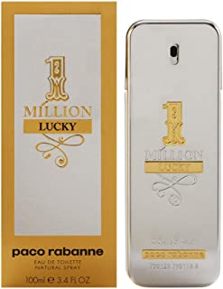 1 Million Lucky by Paco Rabanne for Men - Eau de Toilette, 100ml
