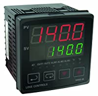 Dwyer Love Series 4B 1/4 DIN Temperature and Process Controller, Voltage Pulse Output and Relay Output by Dwyer