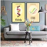 KELEQI Dekoration Malerei Poster Wandkunst Bild Leinwand