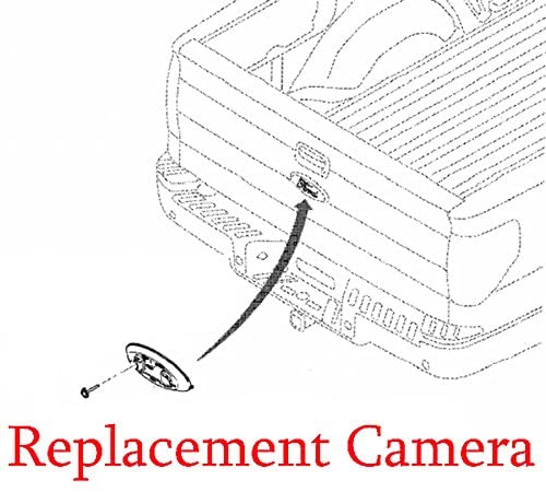 Plug & Play Replacement Camera with OEM Housing and Emblem, Fits 2008-2010 F150