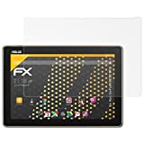 atFolix Panzerfolie kompatibel mit Asus ZenPad 10 Z301MFL Schutzfolie, entspiegelnde & stoßdämpfende FX Folie (2X)