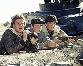 Red Dawn Featuring Patrick Swayze, C. Thomas Howell, Charlie Sheen 11x14 Promotional Photograph