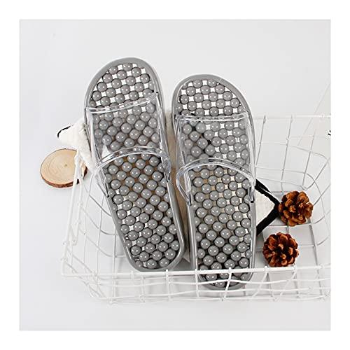Zapatos de Playa y Piscina Zapatillas de ducha de copa de montaje de copa de masaje para hombre de caza de mano para hombres y mujeres  Playa para el hogar interior No resbalón Sandalias de secado rá