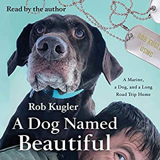 A Dog Named Beautiful audiobook cover art