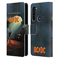 Head Case Designs オフィシャル ライセンス商品 AC/DC ACDC レット・ゼア・ビー・ロック アルバムカバー Motorola Moto G Pro/Moto G Stylus (2020) 専用レザーブックウォレット カバーケース