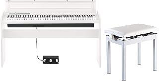 【純正高低自在イス PC-300 セット】 KORG/コルグ LP-180 WH 電子ピアノ ホワイト