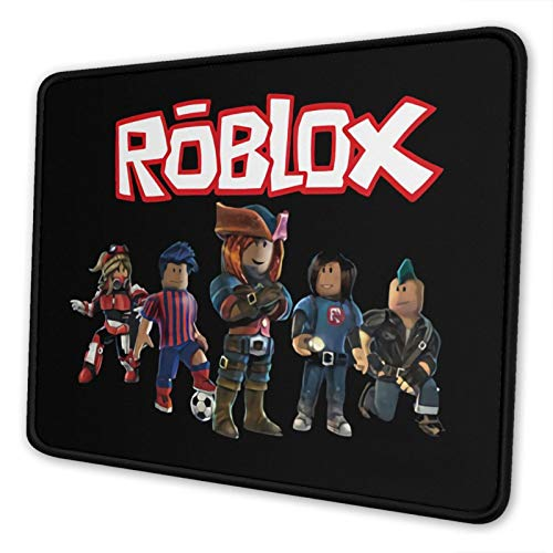 Ro-Bl-Ox World Mouse Pad with Stitched Edge, Computer Mouse Pad with...