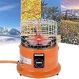 NKTJFUR Estufas De Gas Ambiental, 4000W Estufa Portátil para Calefacción De Camping, Red De Calefacción De Panal para El Picnic De Barbacoa Al Aire Libre, Gas Licuado (Color : Gas Licuado)