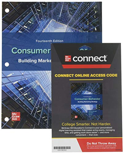 Compare Textbook Prices for GEN COMBO LOOSELEAF CONSUMER BEHAVIOR; CONNECT ACCESS CARD 14 Edition ISBN 9781260872798 by Mothersbaugh, David