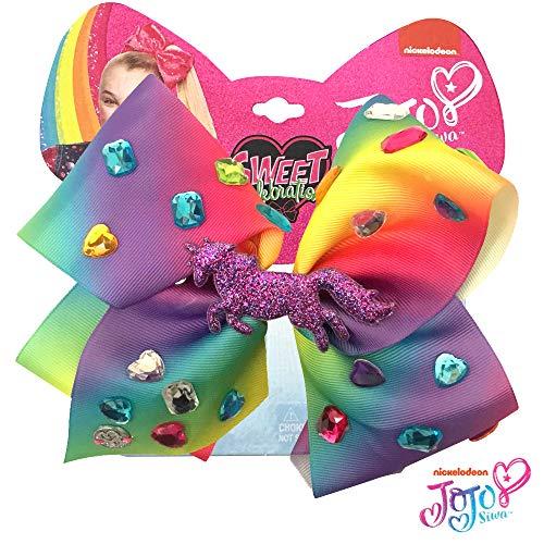 Jojo Siwa Girls Big Bows - Jojos Sweet 16 Birthday Collection, Unicorn