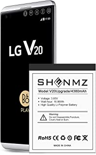 LG V20 Battery,[Upgraded] 4380mAh BL-44E1F Li-Polymer Replacement Battery for LG V20 BL-44E1F H910 H918 LS997 US996 VS995/V20 BL-44E1F [24 Month Warranty]