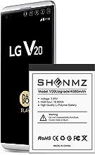 LG V20 Battery,[Upgraded] 4380mAh BL-44E1F Li-Polymer...