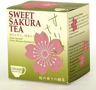 1 X Sweet cherry tea (tea bag 2g×10P) Sakura green Tea