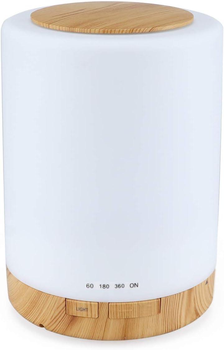 MAG.AL Wood Grain BPA-Free Ranking TOP12 300ml Diffuser Fashionable Oil Essential Scented