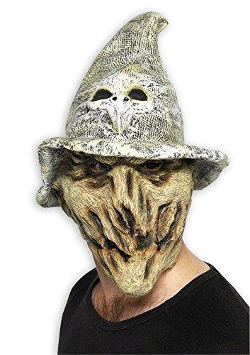 Waldhexen Maske aus Latex,Universalgröße für Erwa