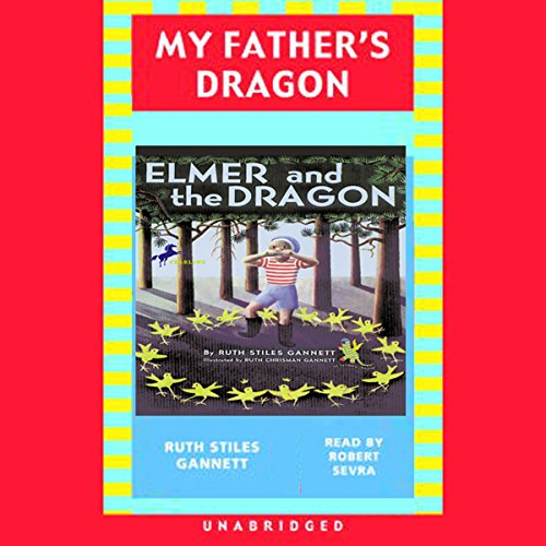 Elmer and the Dragon audiobook cover art