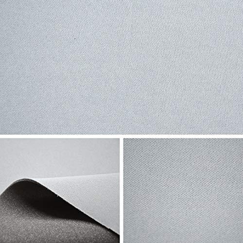 FORTISPOLSTER Himmelstoff Autostoff Polsterstoff Bezugsstoff kaschiert Farbe: Grau SAM528