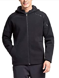 Lumberfield Running Outwear Sports Thick Men's Hooded Hiking Knit Jackets