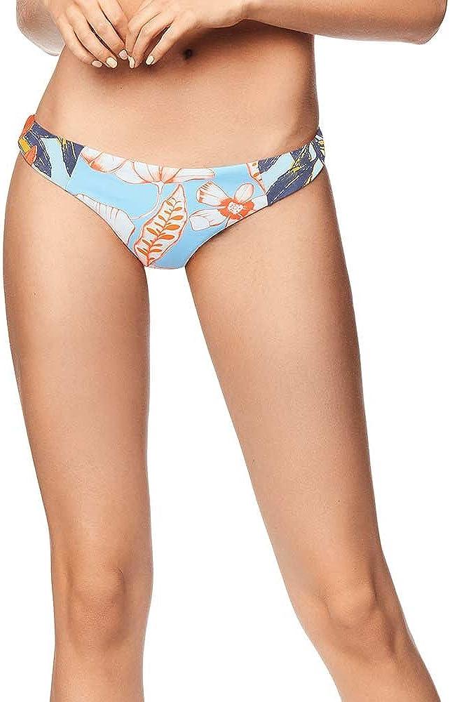 Maaji Women's Standard Reversible Contrast Signature Cut Bikini Bottom Swimsuit
